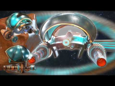 GALACTIC FEDERATION SPACE MINER ROBOT CG ART