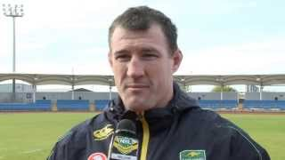 Rugby League World Cup: Australian Vice Captain Paul Gallen previews clash with USA Tomahawks