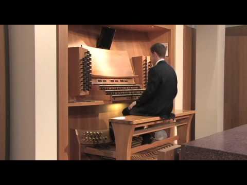 Works by J.S. Bach, Frescobaldi, Mendelssohn, and Vierne