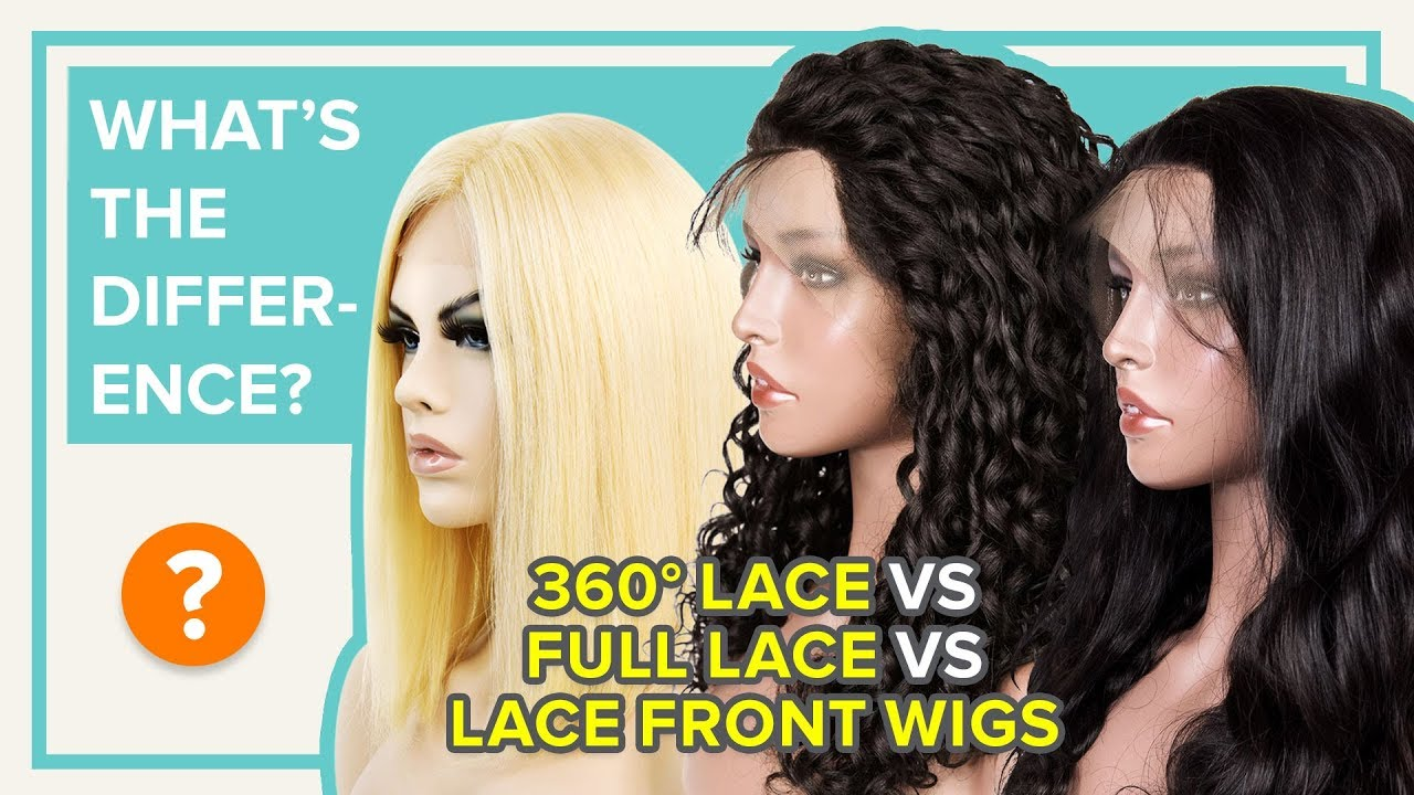 Full Lace Wig vs. Lace Front Wigs