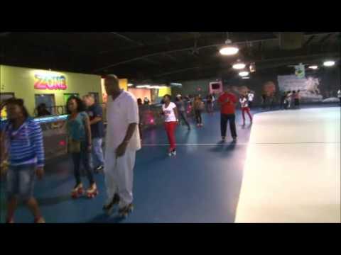 skating highlights from Greenbrier