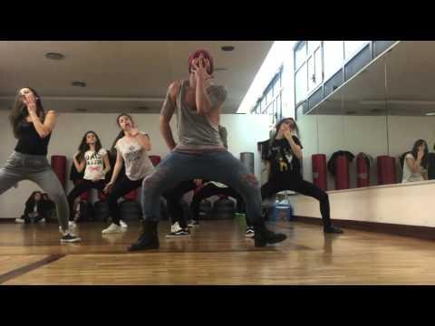 Johnny Rain Erotic City Head coreography