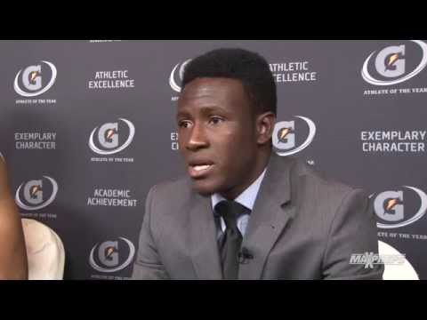Abu Danladi Interview - Gatorade Player of the Year Awards