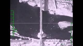 Авиаудар по мосту, контролируемому боевиками, близ н.п. Ракка