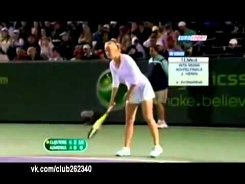 Russian Tennis Player Swears in Public Very Loud