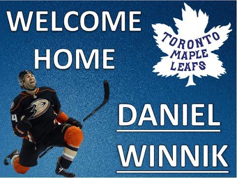 """""""Welcome Home Daniel Winnik"""""""