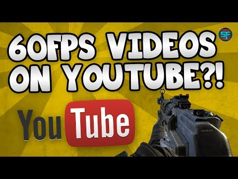 60FPS Videos On Youtube?! : Youtube New Features : BO2 46-3 Kill Confirmed On Raid w/ AN94
