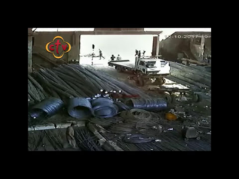 لحظة استشهاد القمص سمعان شحاتة | لقطات حصرية لقناة سي تي في ctv