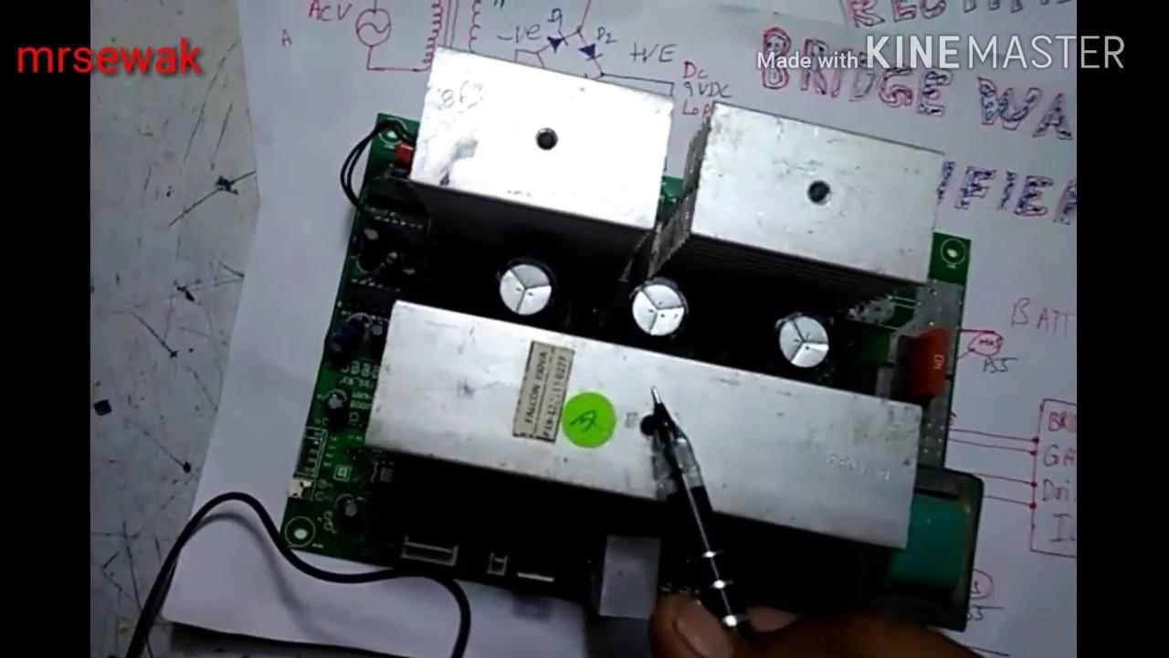 Pure Sinewave Inverter Basic Work Principal With Diagram Simple To 12v Dc Ac Circuits Further Sine Wave Circuit Language Hindi Urdu Punjabi