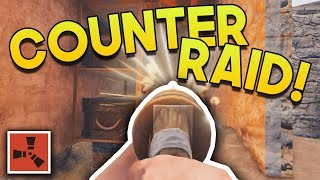 SOLO COUNTER-RAID!! | Rust SOLO Gameplay #8