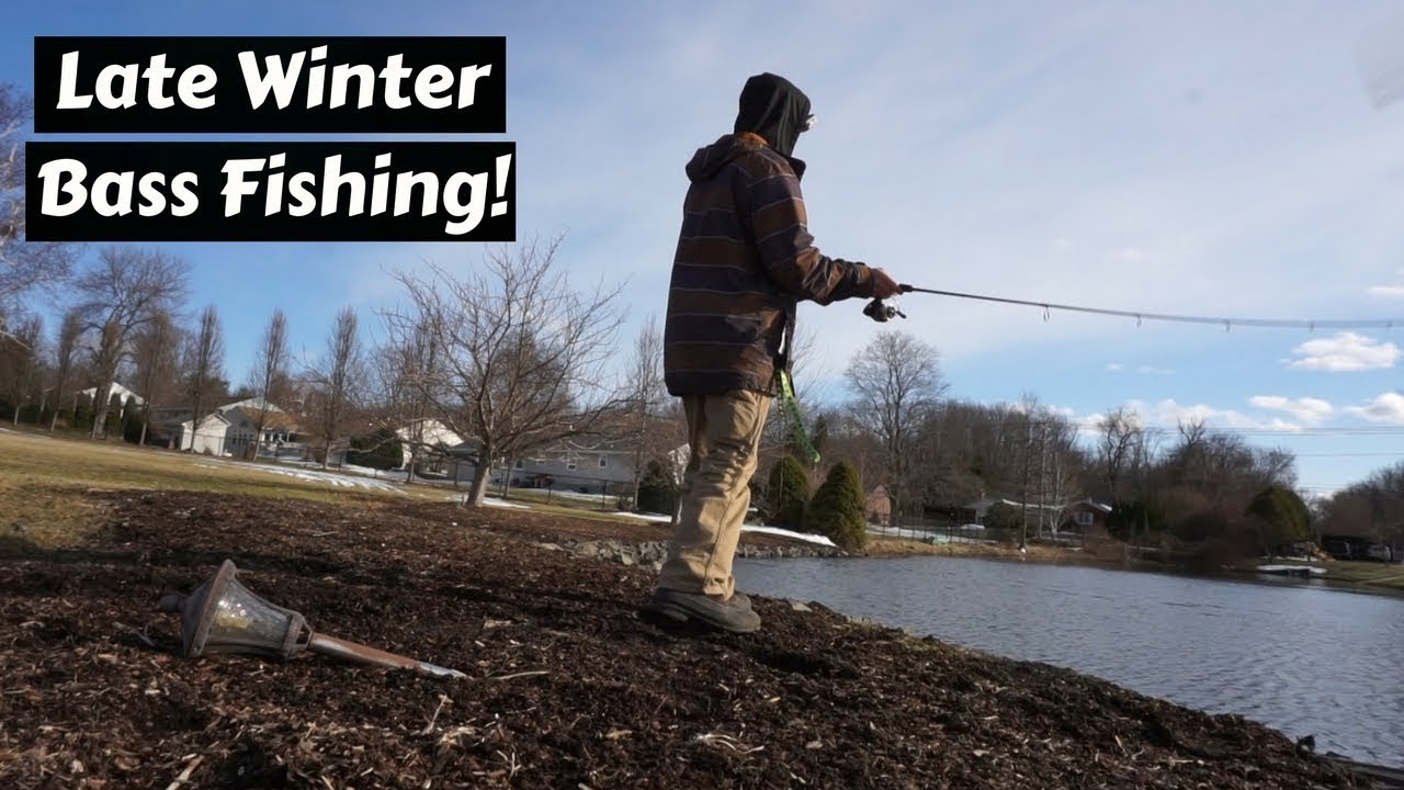 Late Winter Bass Fishing 2018 Using Finesse Techniques