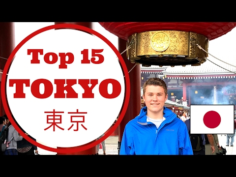 Tokyo Japan: Top 15 Things to Do, See, and Eat