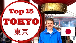 Japan Travel Guide: Tokyo Top 15 Things to Do, See, and Eat thumbnail