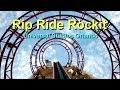 Rip Ride Rockit Front Seat HD POV Universal Studios Orlando