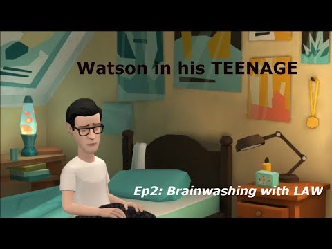 Watson in his TEENAGE - Episode 2| Brainwashing with LAW| BoxAnime Society|