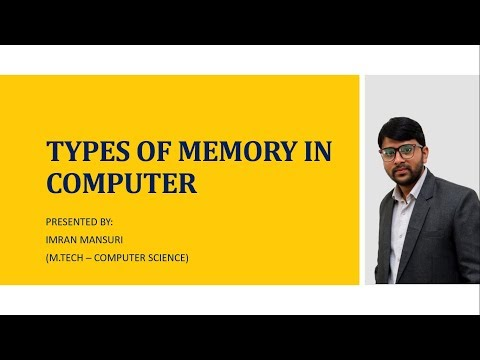 Types of Memory in Computer  What is Primary Memory and Secondary Memory  What is RAM and ROM