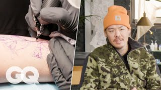Inside Tattoo Artist Dr. Woo's Secret NYC Tattoo Shop | Behind the Craft | GQ