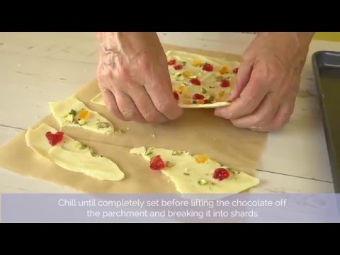 Bake Club presents: How to make chocolate shards