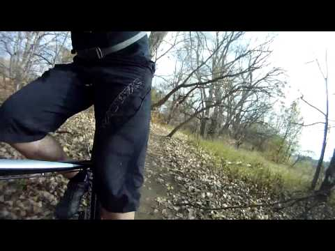 Mountain Bike Tranquility Park Omaha GoPro
