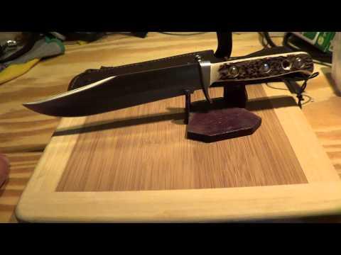 puma fahrtenmesser big vintage scout bowie knife soling doovi. Black Bedroom Furniture Sets. Home Design Ideas