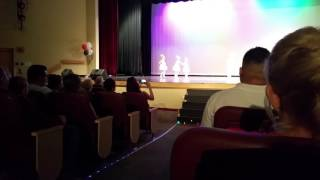 Lyla 1st dance performance 6-2016
