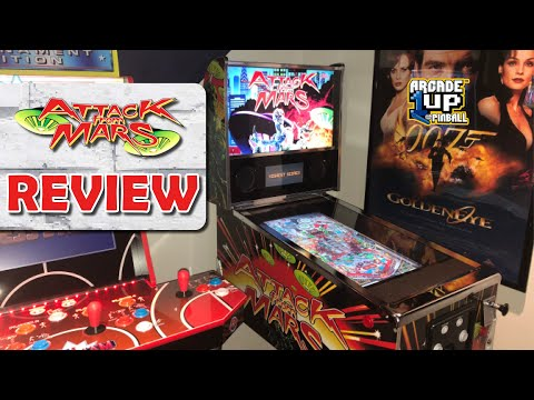 Arcade1up Attack from Mars REVIEW! How Is It?! from Unqualified Critics