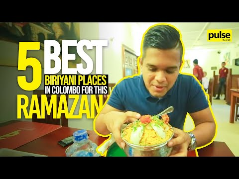 5 Best Biriyani Places in Colombo for this Ramazan