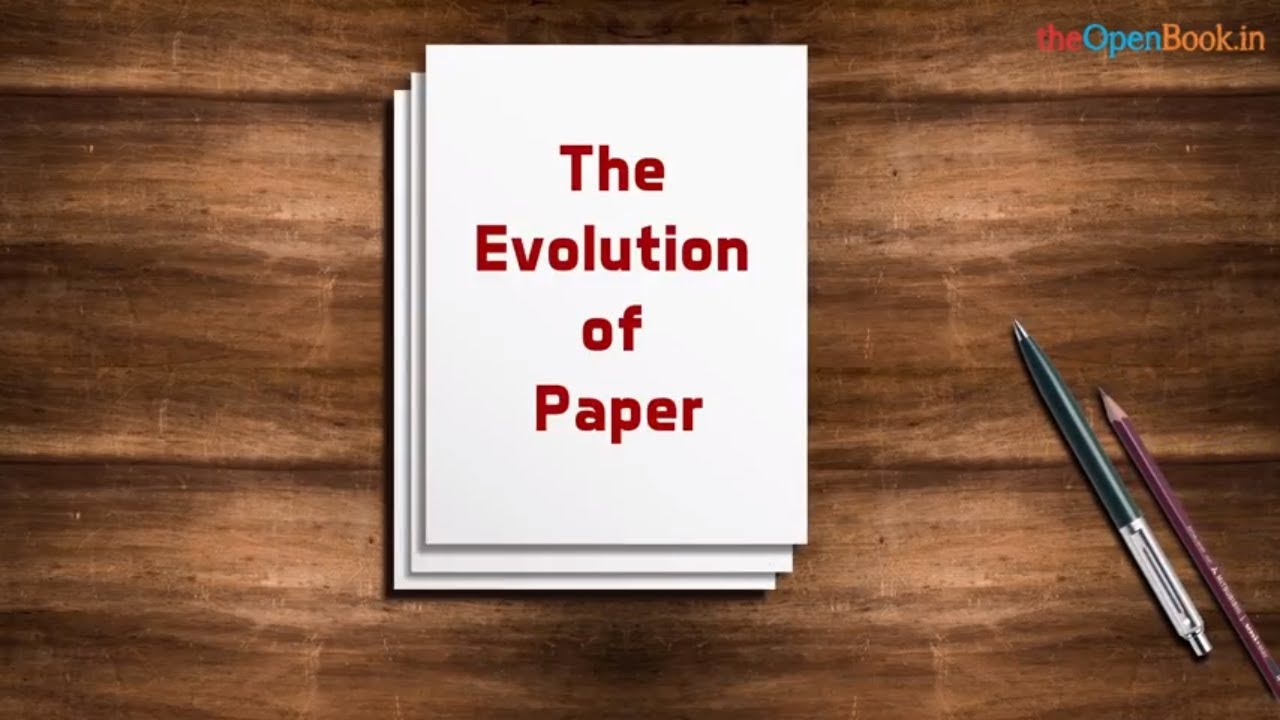 The invention of Paper | The Open Book | Education Videos