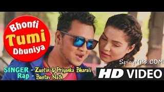 Bhonti Tumi Dhuniya | Zustin & Priyanka Bharali | Bad Boy 2017 | New Assamese Video Song 2017