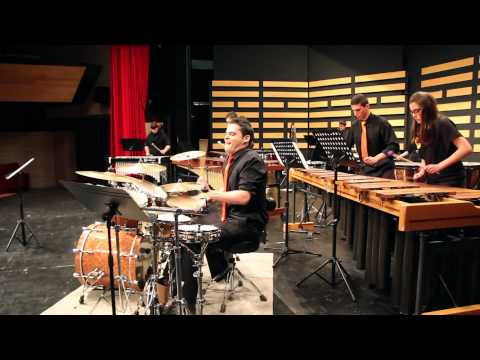 Suite for solo drum set and percussion ensemble