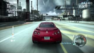 ►NFS: The Run [Síkság & Nissan] Gameplay part 11