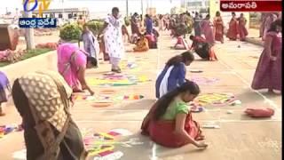 Secretariat Employees Celebrates Pongal Festival at Velagapudi