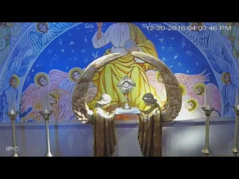 Tuesday 12/20/2016 - Adoration of the Most Blessed Sacrament