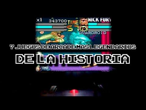 TOP: Los 7 juegos de Arcade más legendarios de la historia | DrossRotzank