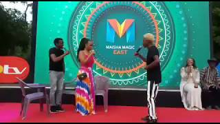 Acting Goes Wrong for Eric Omondi and Chipukeezy at the Launch of TV Drama PETE