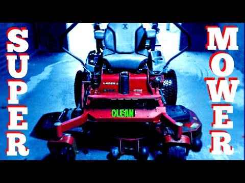How To Super Clean Your Mower