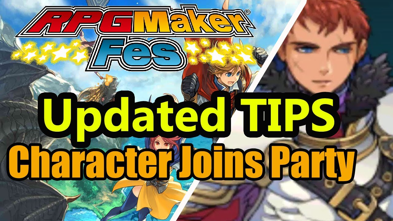 RPG Maker FES - Character Joins Party - Update -Tutorial C [Nintendo 3DS |  NIS America]