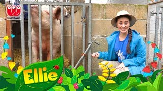 What Are Farms??? | Ellie Explorer's Animal Adventures | Animal Fun Facts for Kids