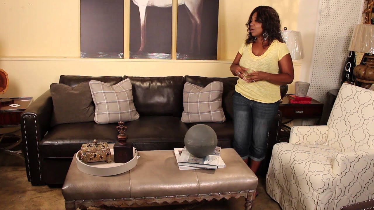 - How To Decorate With Leather Sofas & Fabric Chairs : Perfect