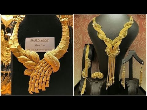 Dubai Gold Souk Bridal Jewellery Designs || Dubai Gold Necklace Designs Part 2 || Jewel Fashion