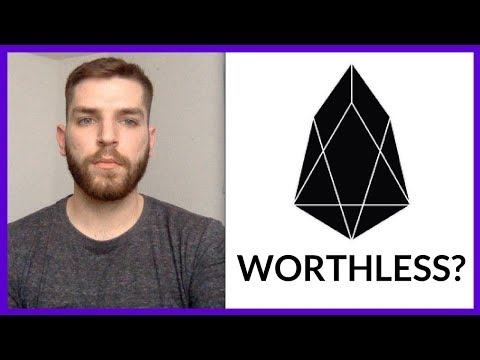 Are EOS.IO (EOS) Tokens Worthless?