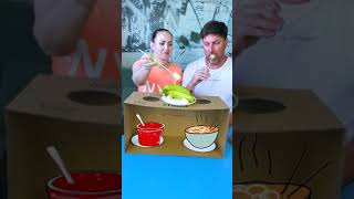 What are they eating this time?! #shorts Funny Tiktok video by Tiktoriki