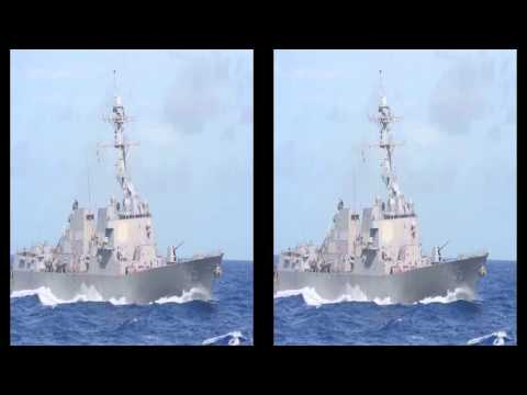 US Navy - Carl Vinson Carrier Strike Group Checks Into US 5th Fleet [1080p]
