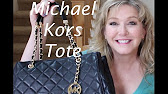 38328b658d Un Boxing of MK Izzy Tote 👜 ❤ 😊 - YouTube