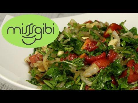 Roka Salatası - Salata Tarifi