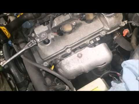 Toyota Sienna spark plugs replacement 3.3 liter
