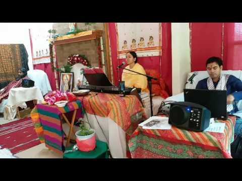 Murlika Ji in US 2017 - Bhagwat Katha at Renu Gupta Ji's Residence Cincinnati Ohio Day 7 Part 1