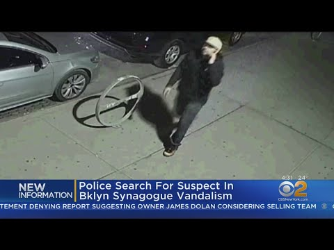 Police Search For Suspects In Brooklyn Synagogue Vandalism