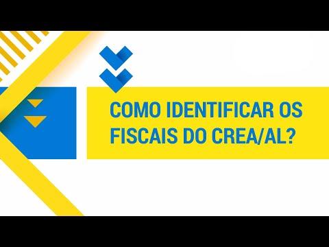 Como identificar um fiscal do Crea-AL