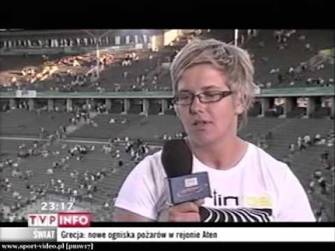 Anita Włodarczyk - wywiad po zakończeniu Mistrzostw Świata - Berlin 2009